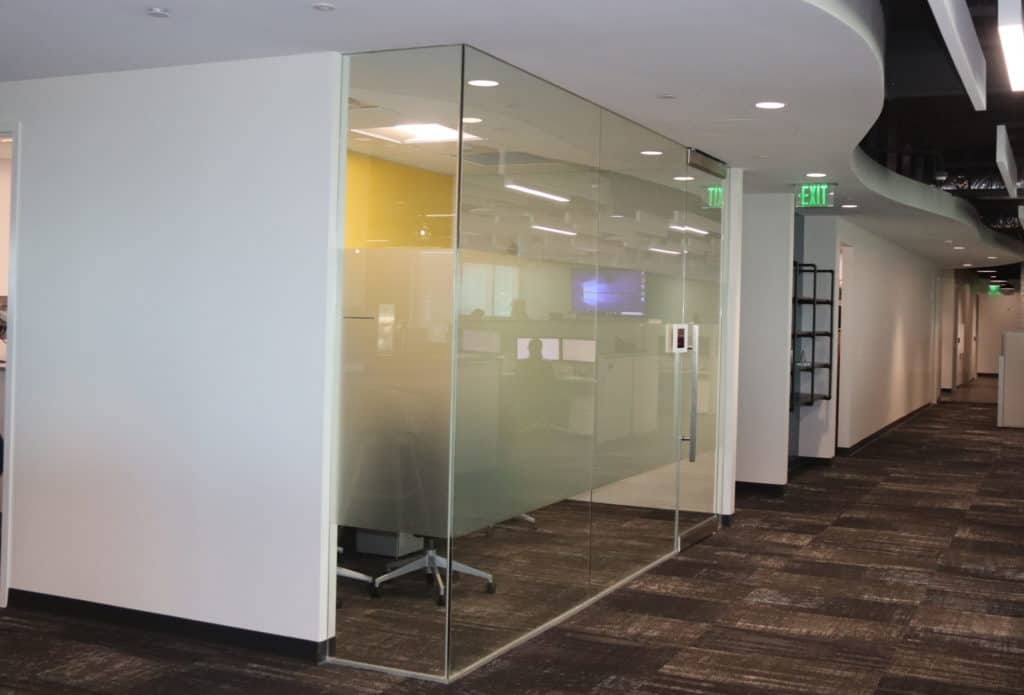 Interior Glass Office Wall